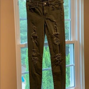 American eagle jeggings jeans size 4